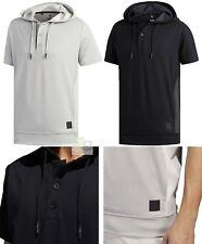 Adidas Golf Adicross Short Sleeve Hoodie Pullover - RRP£65 - S M L XL XXL