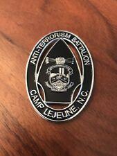 Marine Security Forces US Embassy Baghdad Anti-Terrorism Camp LEJEUNE Coin Medal