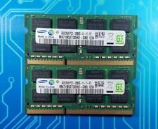 8GB (2x4GB) PC3-12800s DDR3-1600MHz 2Rx8 Non-Ecc Samsung M471B5273DH0-CK0