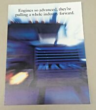 Mack Truck Bulldog 1994 Advertising Sales Brochure Poster Mack E7 Series Engine