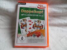 Doppelkopf Clubmeister XXL2 PC-Spiel Windows XP Vista 7 8 Neu deutsch