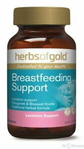 Herbs of Gold Breast Feeding Support 60 Tabs