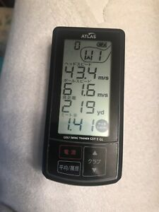 Yupiteru Atlas Gst-5 GL Golf Swing Trainer Launch Monitor