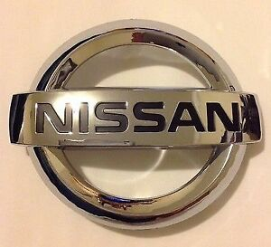 2013-2018 Nissan Altima Murano Rogue & Maxima Front Grill Chrome Emblems New OEM