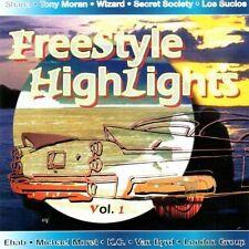Freestyle Highlights Shane, Tony Moran, Wizard, Secret Society, Los Sucio.. [CD]