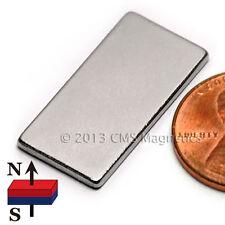 "Neodymium Magnets N45 1""X1/2""X1/16"" NdFeB Rare Earth Magnets 10 PC"