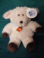 "STARBUCKS BEARISTA Bear 31st  Edition Soft Toy lamb with tatty tag 10"" approx"