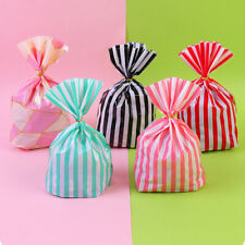 50Pcs Stripe Candy Packaging Paper Bag Party Birthday Wedding Favor Gift Decor