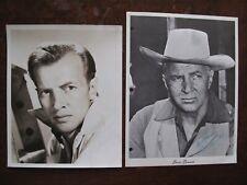 TWO Bruce Bennett signed photographs