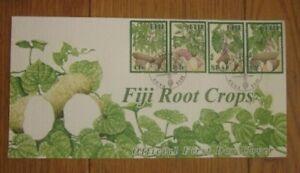 FIJI ROOT CROPS KUMALA UVI DALO TAVIOKA SET 2005 NICE ALL-OVER DESIGN FDC