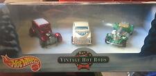 1/64 Hot Wheels vitage hot rod 3 car set