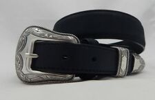 Justin RIDGEPOINT Ranger Style Leather Belt  Size 36  C13623  Made in USA NWT