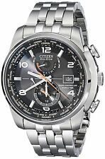 Citizen AT9010-52E Men's Stainless Steel Perpetual Calender World Time A-T Watch