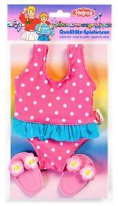 Heless +++Badeanzug mit Schläppchen für Puppen Baby 35 - 45cm Sommer & Sonne