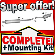 PEUGEOT EXPERT I 2.0 HDI SWB-Short 05.2005-2006 Exhaust System T72C