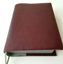 Book Cover FAUX LEATHER  4 3/4