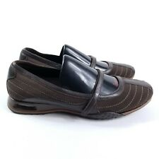 Cole Haan / Air Soles Womens Size 6.5B Brown Mary Jane Slip-On Shoes VGUC