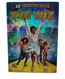 The Wiz DVD 30th Anniversary Edition Remastered With Bonus DVD Free Tracked Post