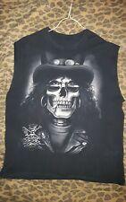 Guns & Roses - Slash (Sleeveless) Skull Shirt, Men's XL