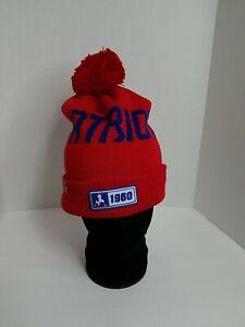 NFL New England Patriots New Era Beanie 100 Cap Pom Winter New
