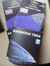 Highlander Women's Rannoch Trek Walking Socks - UK 2.5 - 5- Euro 35-38, 2 pairs