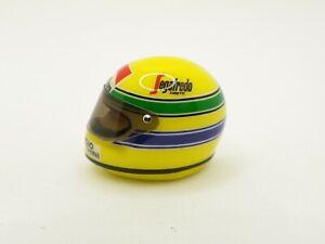 Helm Ayrton Senna Toleman 1984 Marlboro JF Créations 1/12 F1 Anstecknadel RAR