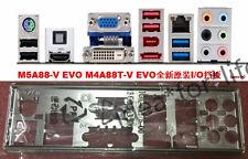 Original I/O IO SHIELD for ASUS M5A88-V EVO M4A88T-V EVO M4A785TD-V EVO T2683 YS