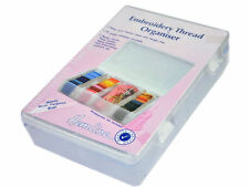 Plastic Medium Embroidery Floss/Thread Box/Organiser Hemline H3003.M