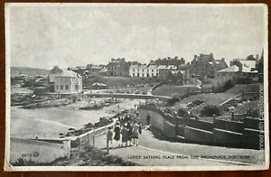 Ladies Bathing Place Promenade Portrush Postcard Co Antrim Northern Ireland 1931