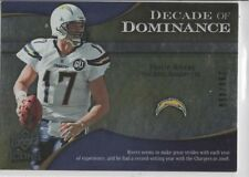 2009 UPPER DECK ICONS PHILIP RIVERS DECADE OF DOMINANCE #rd 450