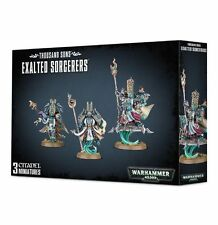 Thousand Sons Exalted Sorcerers Chaos Space Marines Warhammer 40k