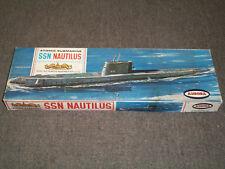 Aurora 1/242 Scale SSN Nautilus, Atomic Submarine, Kit #708-130, Dated 1962