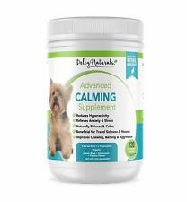 Calming Treats Dogs Valerian Ginger Root Naural 120 Soft Chews Chicken Flavor