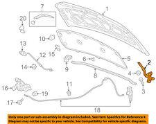 Chevrolet GM OEM 12-18 Sonic Hood-Hinge Left 95292251