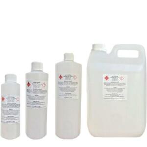 100% Pure Acetone Remover Propanone Liquid Nail Polish Gel Acrylic SNS Solvent