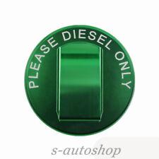 SAS For NEW 2014+up JEEP GREEN ALUM FUEL FILLER GAS CAP,3.0L V6 Grand Cherokee