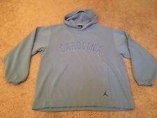 Men's Nike Jordan Large Blue UNC North Carolina Basketball Hoodie Sweatshirt L