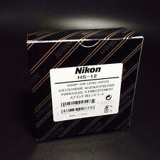 Nikon HS-12 Snap-On Spring Lens Hood for NIKKOR 50mm f/1.2/S Original Brand New