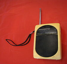 Radio portatile vintage Telefunken PR-12 PR12 pocket receiver fm am mini antenna