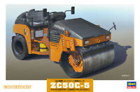 Hasegawa WM02 1/35 Model Kit Hitachi Vibratory Combined Road Rollers ZC50C-5