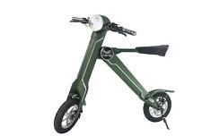K1 Mofa +, E-Roller, 20 km/h-keine Helmpflicht,faltbar, klappbar,OLIVEGRÜN,GREEN