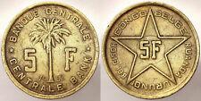 5 Francs 1953 Baudouin 1951-1960 Belgian Congo #4906