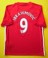 5+/5 Manchester United #9 Ibrahimovic Jersey T-Shirt AI6716 Kids 11-12 Adidas