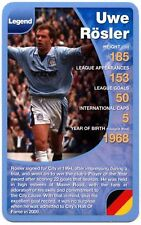 Uwe Rosler - Manchester City Football Club Specials Top Trumps Card (C461)