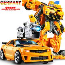 Kinder Transformer Bumblebee Roboter Flim Figur Auto Actionsfigur Spielzeug Neu