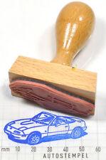 Mazda MX-5 NA 1989 als Gummistempel mit Holzgriff - rubberstamp
