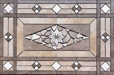 "32"" x 20 3/4"" Tile Medallion Deco - Daltile Affinity & Porada tile series"