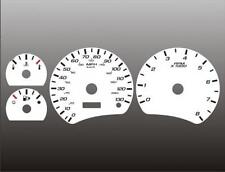2005-2006 Chevrolet Equinox Dash Cluster White Face Gauges 05-06