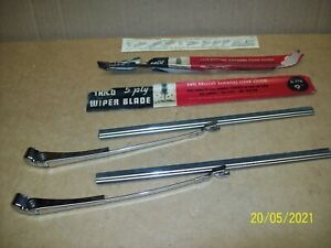 """46,47,48 Chevy,Buick,Olds,Pontiac,Cadillac New Old Trico 9"""" wiper blades & arms"""