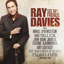 RAY DAVIES ( NEW CD ) SEE MY FRIENDS ( PALOMA FAITH / MUMFORD & SONS ) KINKS
